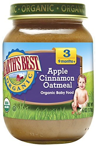 Earth's Best Organic Stage 3 Baby Food