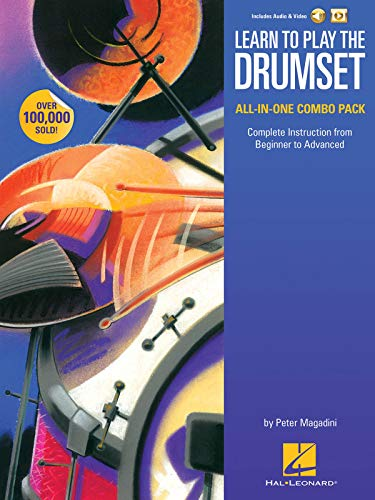 Learn to Play the Drumset - All-in-One Combo Pack: Complete Instruction from Beginner to Advanced (BATTERIE)