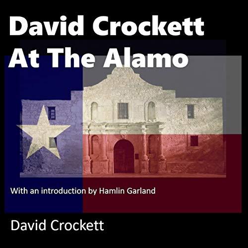 David Crockett at the Alamo cover art