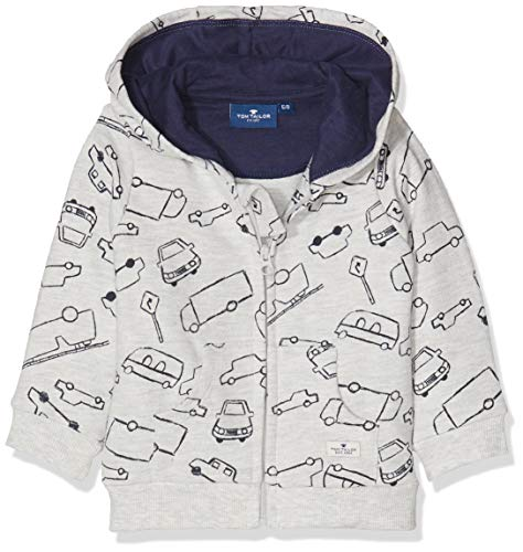 TOM TAILOR Kids TOM TAILOR Kids Baby-Jungen Sweatshirt, Beige (Lunar Rock Melange|Beige 8439), 74