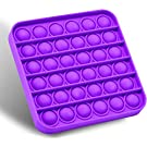 Pop Fidget Toy, Square Pop Fidget Toys a Loud Side and a Quiet Side to Pop, Great Way to Relax and Keep Busy for Kids and Adults