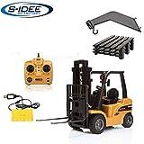 s-idee® S1577 Rc Gabelstapler und Kran 8 Kanal 1:10 mit 2,4 GHz Huina 1577
