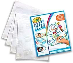 Crayola - Recharge pages blanches Color Wonder - Coloriage magique - 256390.018