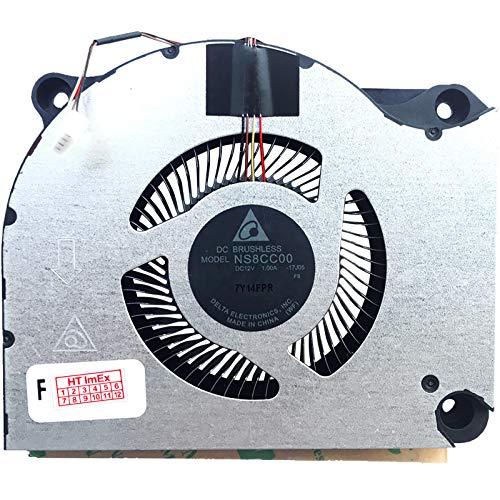(Version 2) Fan Cooler Compatible with Acer Predator Helios 500 PH517-51, 500 PH517-51 (Ryzen 7 2700), 500 PH517-51 (RX Vega 56)