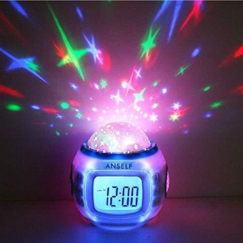 Anself H4962 - Reloj despertador para...