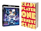 Ready Player One, 4K UHD + Blu Ray + Ready Player One, Libro (copertina flessibile)