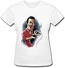SAMJOSPHT Women's Faith No More Mike Bordin Art T-shirt