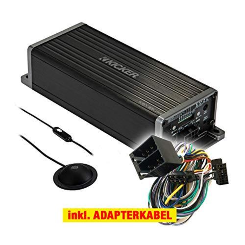 Kicker KEY180.4 PP Auto/KFZ Kompakt Plug & Play Upgrade Verstärker/Endstufe kompatibel für Suzuki