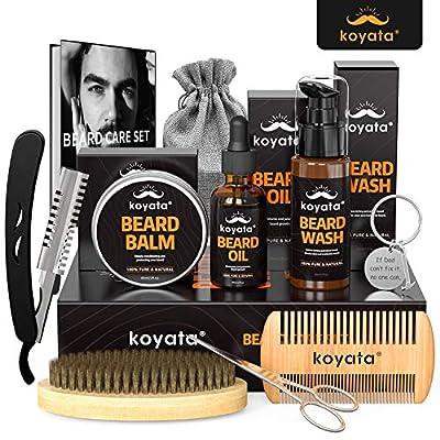 KOYATA 10 In 1 Beard Grooming Kit For Beard Mai...