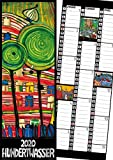 Hundertwasser Streifenkalender Art 2020 - Wörner Verlag GmbH
