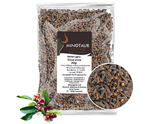 Minotaur Spices | Clavo de Olor Entero, Clavo de Olor | 2 X