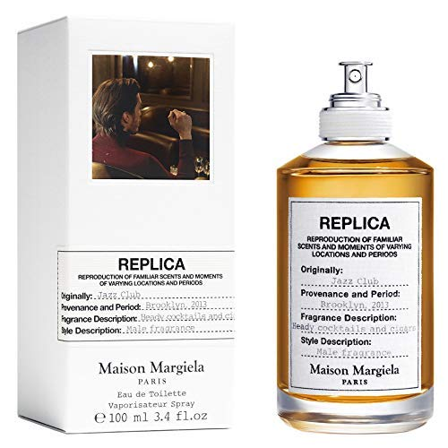100% Authentic Maison Margiela Replica Jazz Club 100ml edt + 3 Niche samples - Free