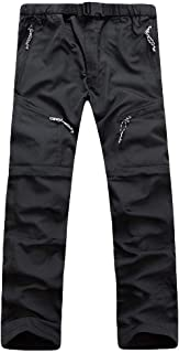 VPASS Pantalones Hombre,Pantalones de Trekking Deportes al