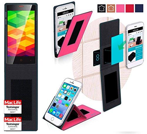 reboon Hülle für Ulefone BE X Tasche Cover Case Bumper   Pink   Testsieger