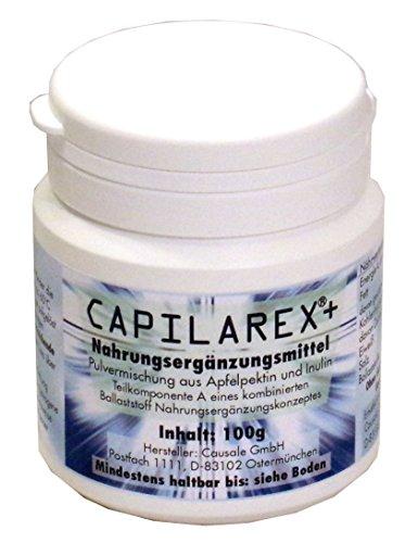 Capilarex +, Pektin Ballaststoff, 100g, neu