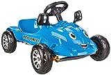 JAMARA- Auto Ped Race-Azionamento a Pedali con Specchi Esterni e Clacson, Colore Blu, 4602...