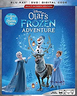 OLAF`S FROZEN ADVENTURE PLUS 6 DISNEY TALES (EXTENDED HOME VIDEO EDITION) [Blu-ray]