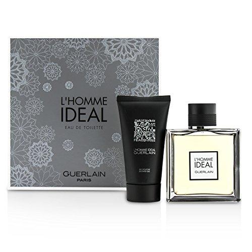 Guerlain L'homme Ideal Set 100ml EDT Eau de Toilette Spray + 75ml Duschgel