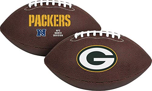 Rawlings Official NFL Air It Out Gametime Football, Youth Size, Green Bay Packers