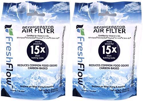 Fresh Flow W10311524 Air Filter Cartridge for Whirlpool Refrigerator
