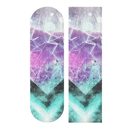 MNSRUU A Growing Diamond Skateboard Griptape Blatt Scooter Deck Sandpapier 22,9 x 83,8 cm