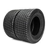 Set of 2 Lawn Mower Turf Tires 23x10.50-12 for Garden Tractor Golf Cart Tire 23x10.50x12 4PR...