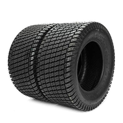 Set of 2 Lawn Mower Turf Tires 23x10.50-12 for Garden Tractor Golf Cart Tire 23x10.50x12 4PR Tubeless