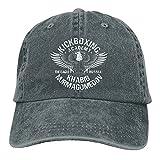 The Eagle Russia Khabib Nurmagomedov Kickboxing Academy Summer Essentials Fashion Washed Plain Baseball Cap,Adjustable Hats for Unisex-Adult Deep Heather