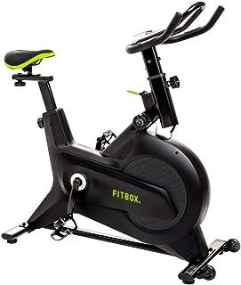 【FITBOX 第3世代フィットネスバイク 極静音】 スピンバイク メーカー エクササイズセンサー付き 組立簡単 トレーニング トレーニングバイク ダイエット器具