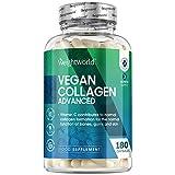 Collagène Vegan et Acide Hyaluronique Avancé – 180 Gélules Vegan WeightWorld | Collagène Végétal 100 % Naturel - Avec Vitamine C, Vitamine E, Zinc, Lactobacillus Acidophilus, Vegan Collagen Advanced