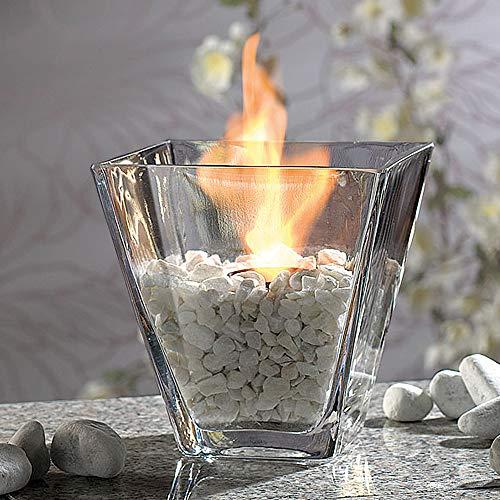 Monsterzeug Tischfeuer Bioethanol Deko Feuerschalen, Dekolicht Tischkamin, Ethanol Dekofeuer im Glas