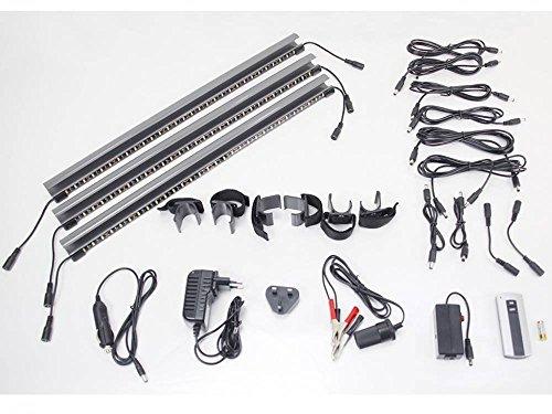 Preisvergleich Produktbild Kampology SMD LED Caravan Vorzelt Beleuchtung ,  komplettes System
