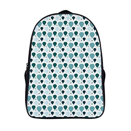 Xiahale - Mochila de Viaje para niños y niñas, diseño de Globos de Aire Caliente