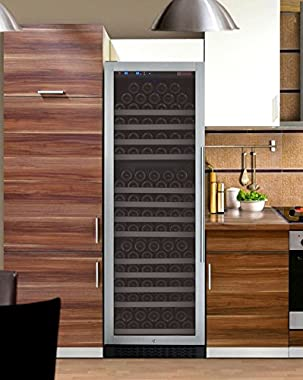 Allavino Wine Refrigerator, 177 Bottle, Stainless Steel