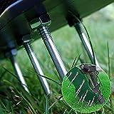VOLADOR Lawn Aerator Sandals, Professional Lawn Aerator Scarifier, Effortless Garden Grass Aerator, Adjustable