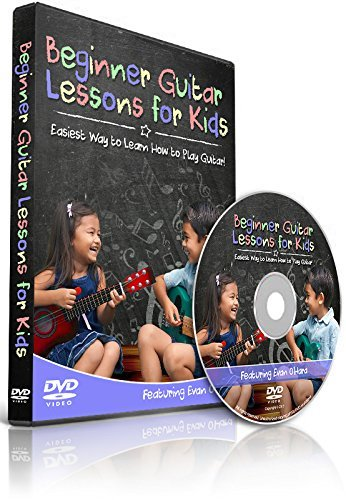 Beginner Guitar Lessons DVD for Kids - Easiest Way to Learn How to Play Guitar