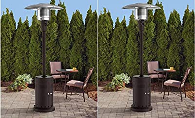 Mainstay Large Patio Heater, Set of 2