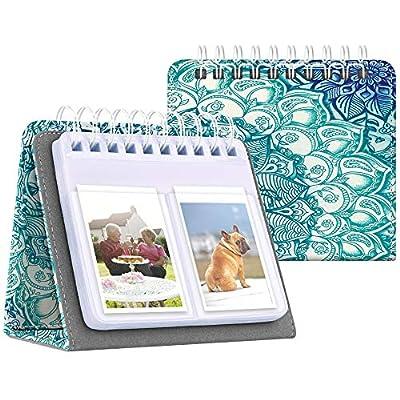 Fintie Calendar Photo Album for Fujifilm Instax 3-Inch, 64 Pockets Photo Album for Fujifilm Mini 11 Mini 9 Mini 8+ Mini 90 Mini Link Printer, HP Sprocket, Kodak Mini, Polaroid Camera by Fintie