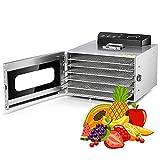 Deshidratadora De Frutas Y Verduras 400W Deshidratador De Alimentos...