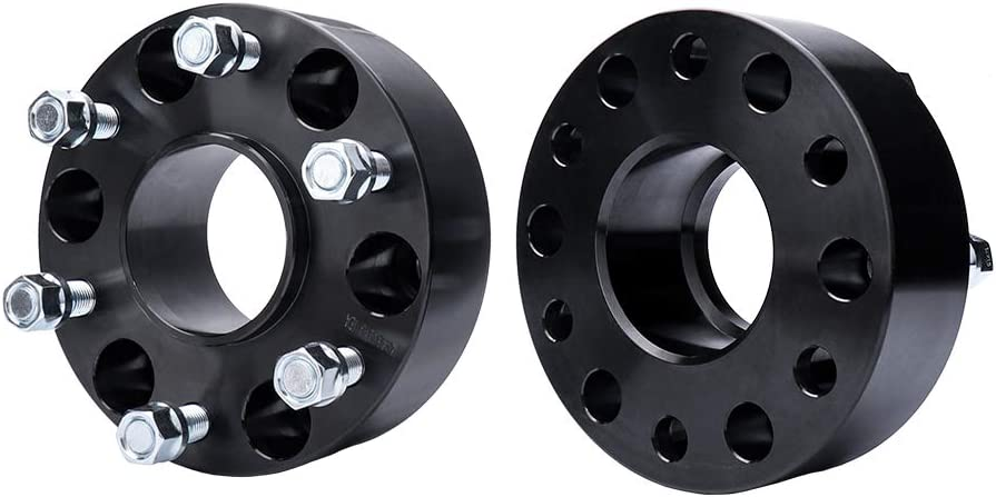 78.1mm Fits 1999-2020 for Cadillac Escalade//for Chevy Silverado//for GMC Sierra//Tahoe//Yukon Suburban Hubcentric Wheel Spacers BRTEC 4pcs Wheel Spacers 2 Thick//6x5.5 Pattern//Inner Diameter