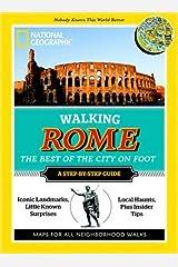 Walking Rome Paperback