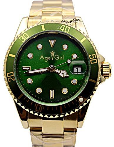 Marchio di Lusso Nuovo Mens Sub Orologi Automatici a Vento Automatico da Uomo Acciaio Inossidabile Dive Wristwatch Oro Nero Argento1