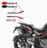 Vulturbike Adesivi per Borse Laterali Grand Tour Design - Ducati Multistrada 950/1260 / 1200 dal 2015