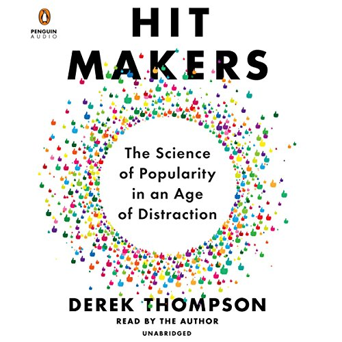 Hit Makers audiobook cover art
