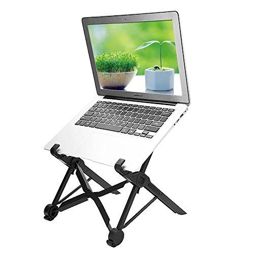 Mugast NEXSTAND Laptop Ständer,Faltbar Tragbar Desktop Laptop Halter Universeller Leicht Höhenverstellbar Stehtisch für Notebooks Laptops ab 11,6 Zoll Größe