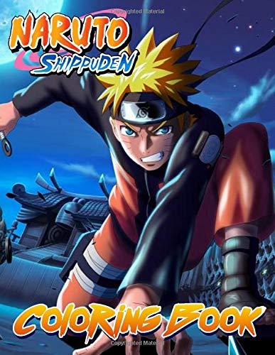 [画像:Naruto Shippuden Coloring Book]