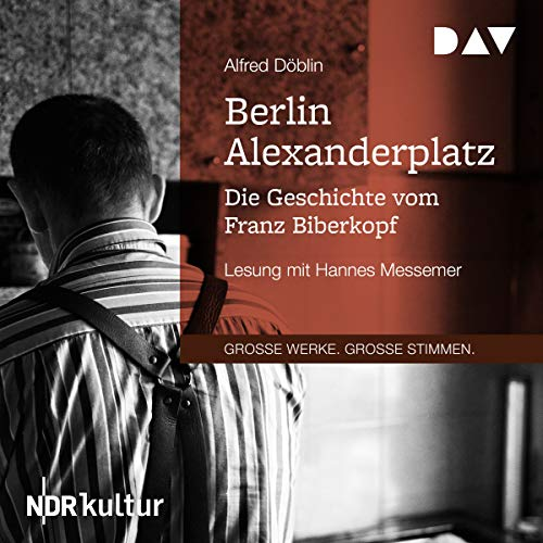 Berlin Alexanderplatz audiobook cover art