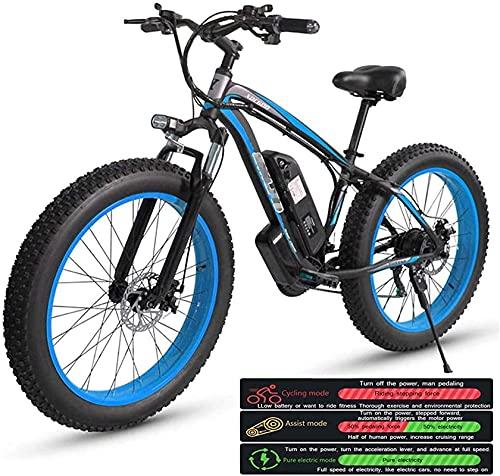 Bicicleta electrica Bicicleta de montaña eléctrica para adultos, bicicleta eléctrica Tres modos de trabajo, 26