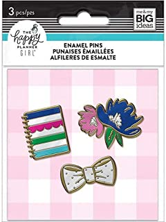 MAMBI, The Happy Planner Girl, Socialite, Enamel Pins