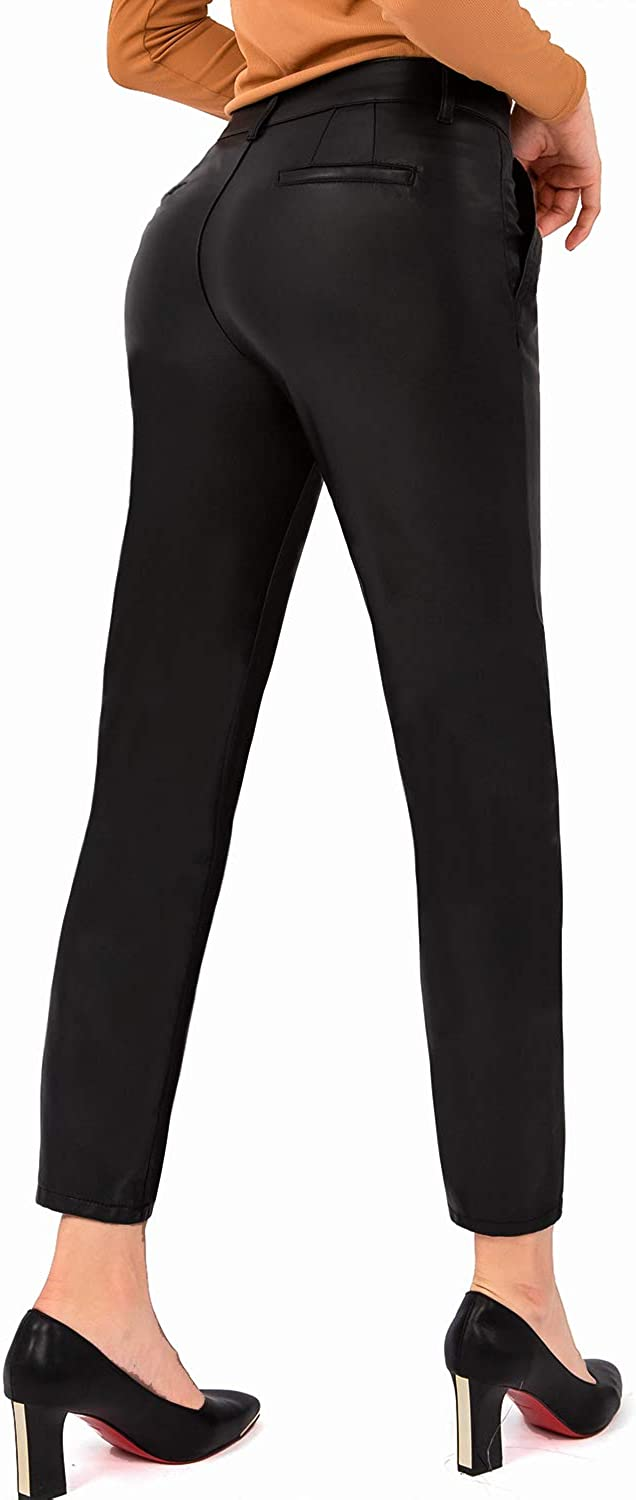 Bamans Sale Shipping included special price Leather Pants Women Faux Pan Leggings Stretch Skinny Soft